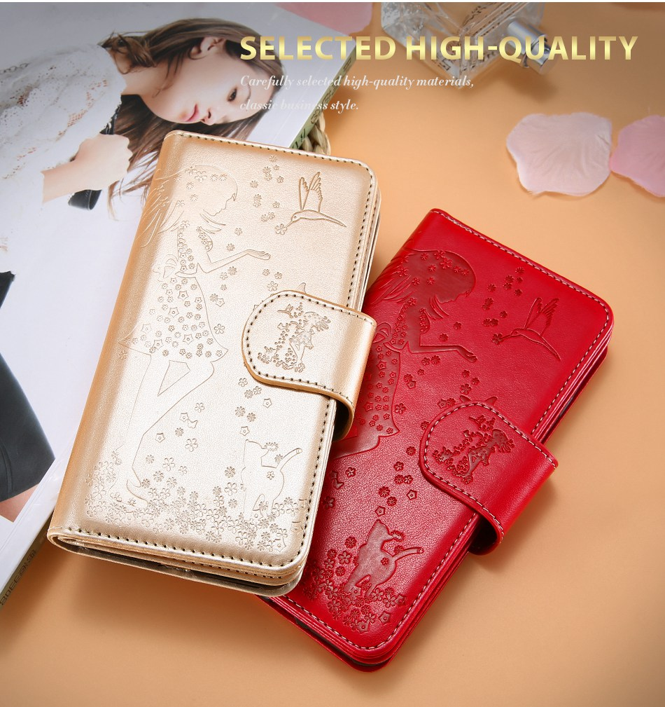 Leather Wallet Case For iPhone 7 6 6S Plus 5 5S SE Phone Cases (2)