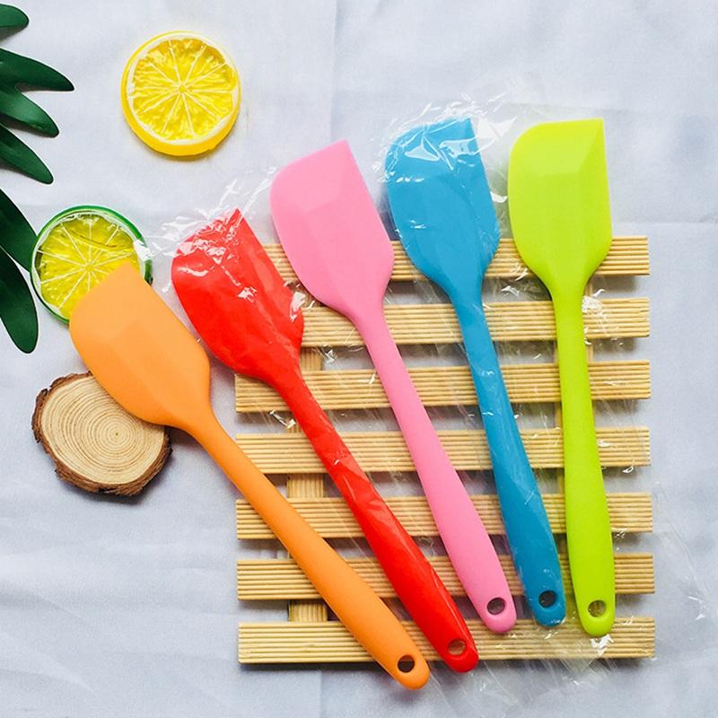 Kuchen-SahneButter-Spachtel-Mischenteig-Schaber-Silikon-Backen-Werkzeug Neu