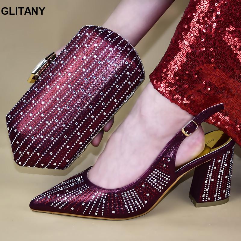 De nouvelles chaussures et sacs d'arrivée pour correspondre Chaussures et Sacs italienne Set femmes Comfy Sandales plateforme Sandales d'été Pompes