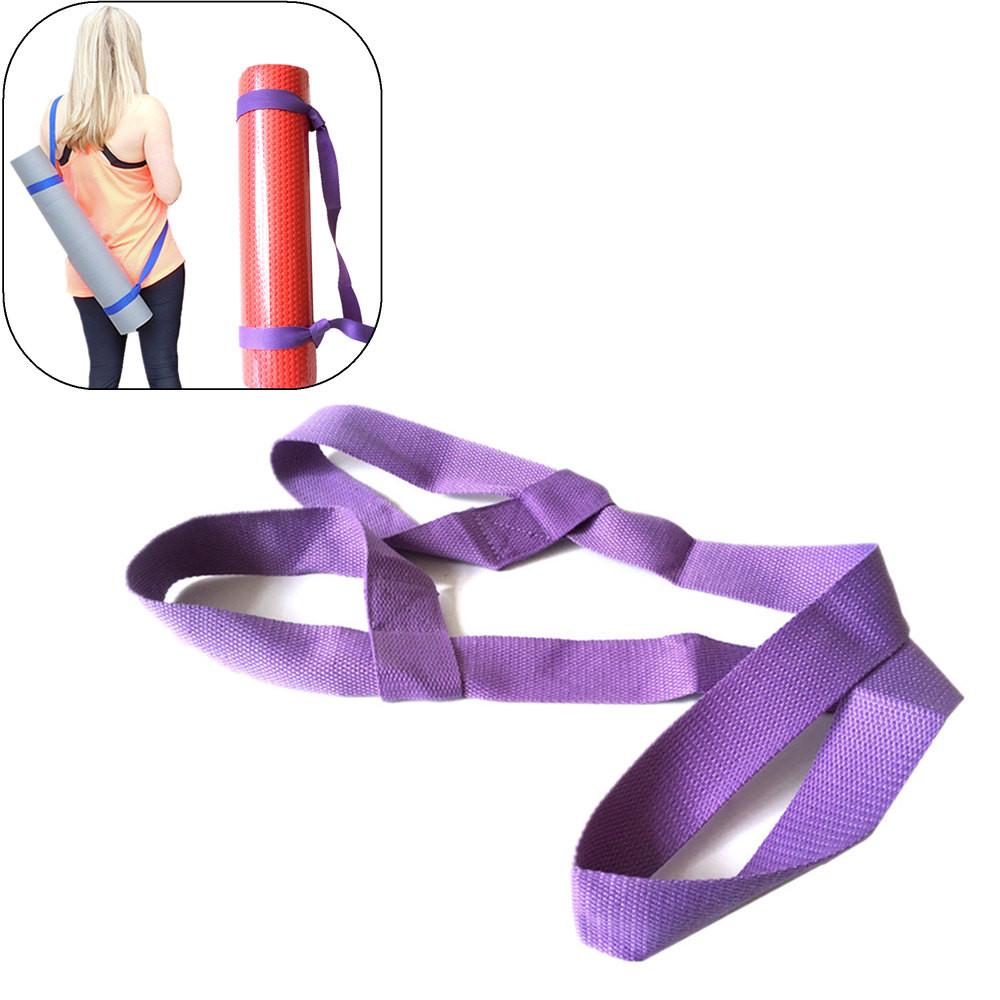 Einstellbare Yogamatte Sling Carrier Schultergurtgurt Übung Sportgymnastik neu
