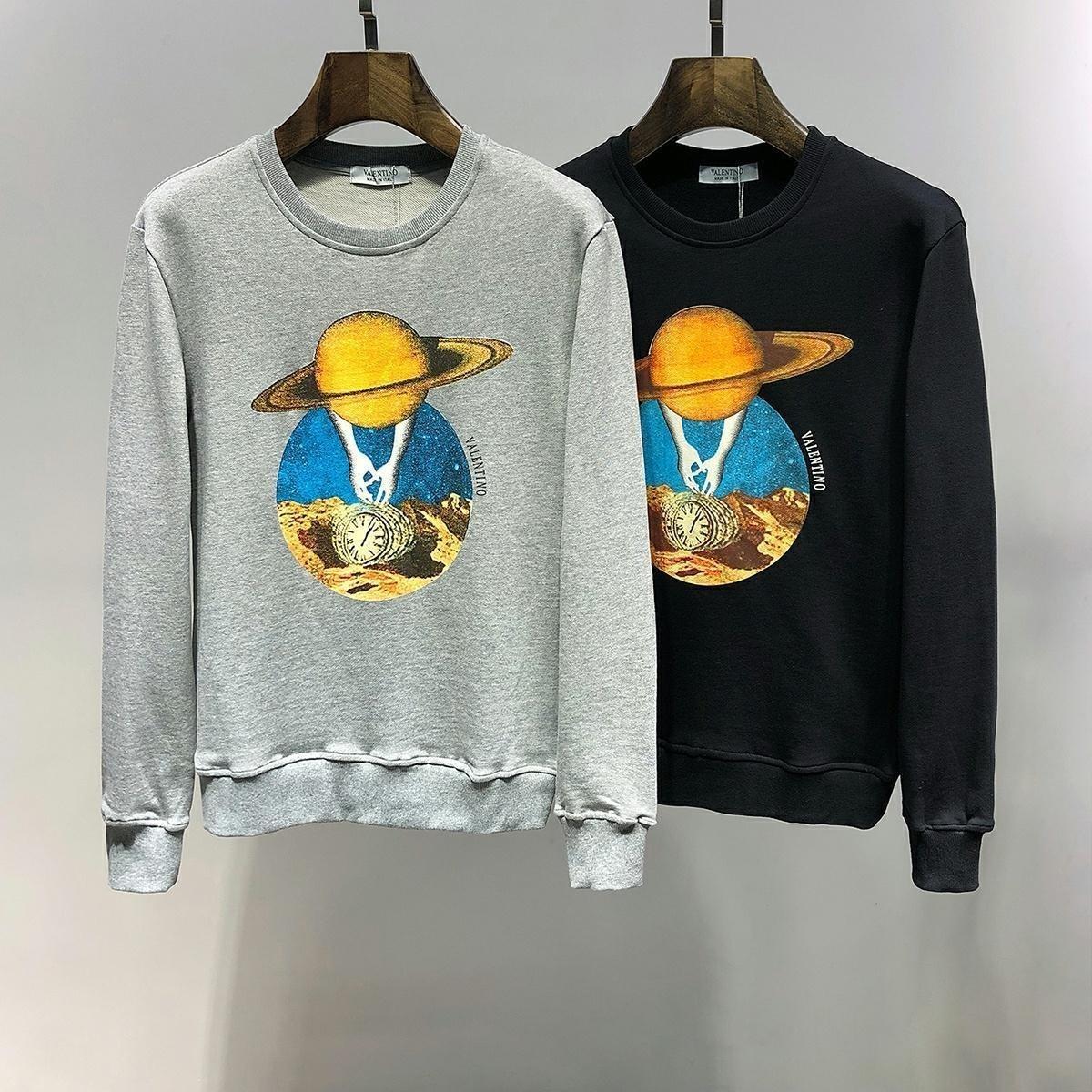 Men brand sweatshirt jacket coat Long Sleeve pullover mens clothes Autumn Round neck hoodies survêtements de marque pour hommes5