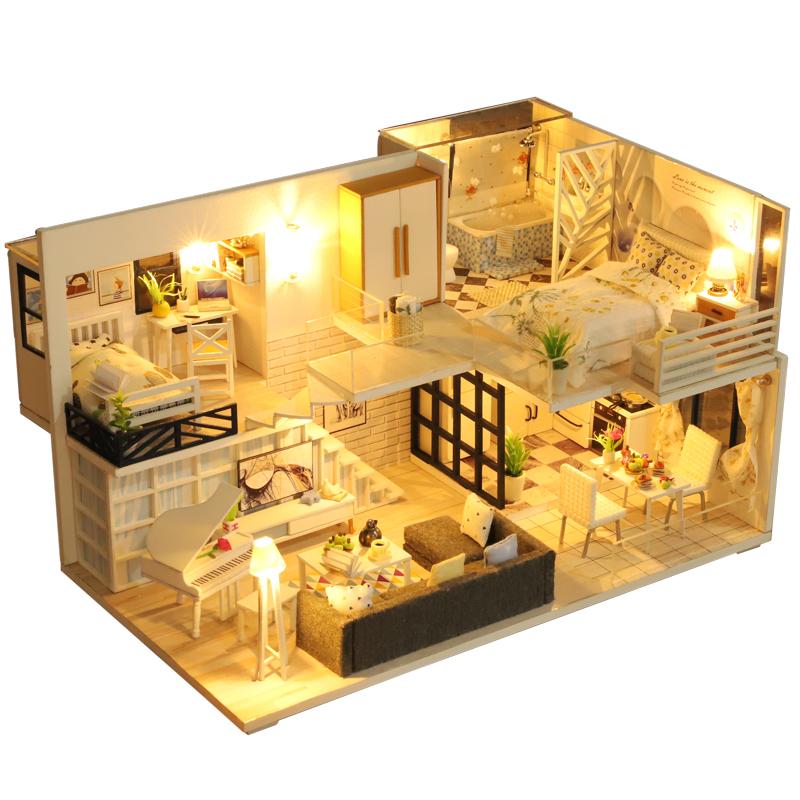 2 casa de muñecas en miniatura de estilo marroquí Adornos BB