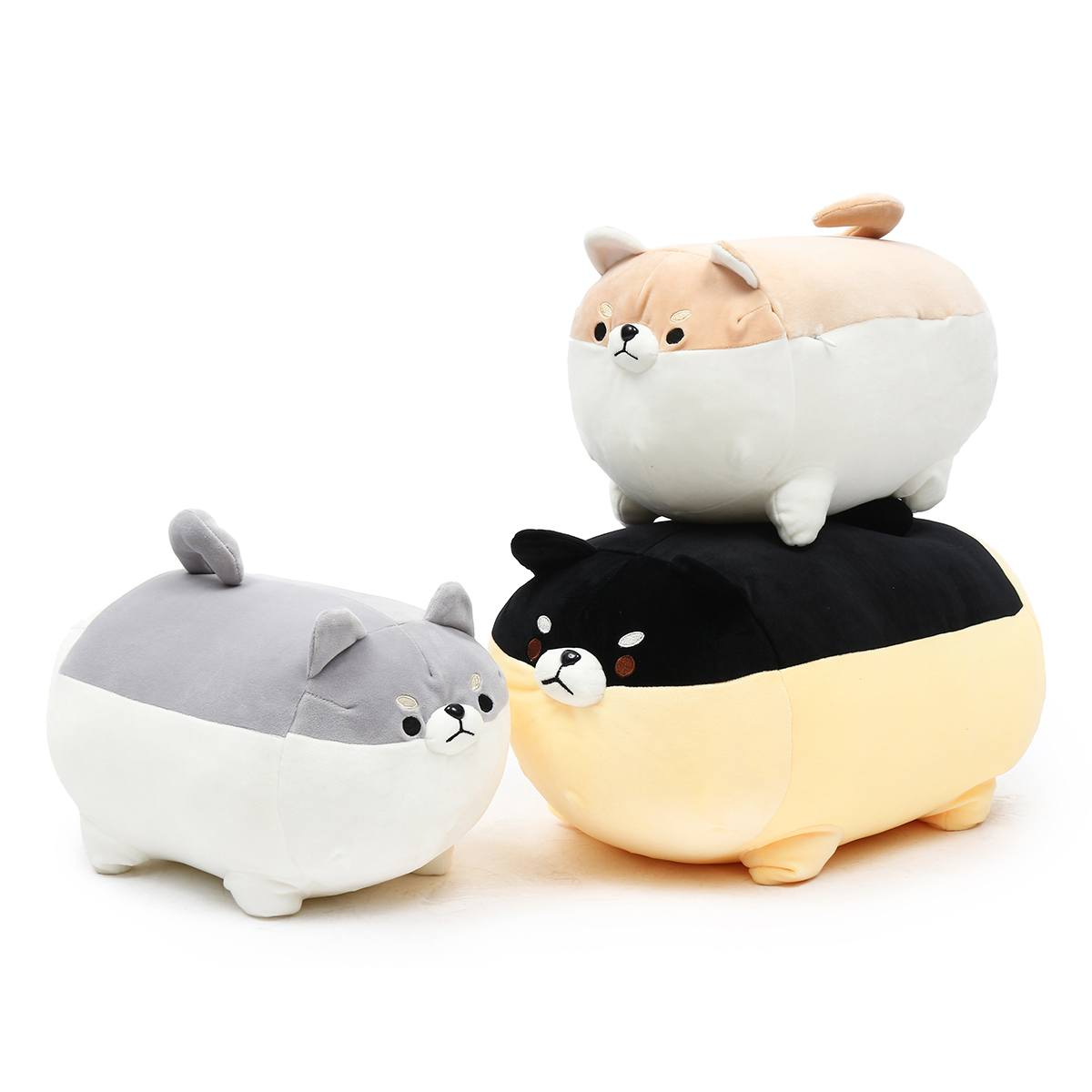 40/50cm Cute Shiba Inu Dog Plush Toy Stuffed Soft Animal Corgi Chai Pillow Christmas Gift for Kids Kawaii Valentine Present