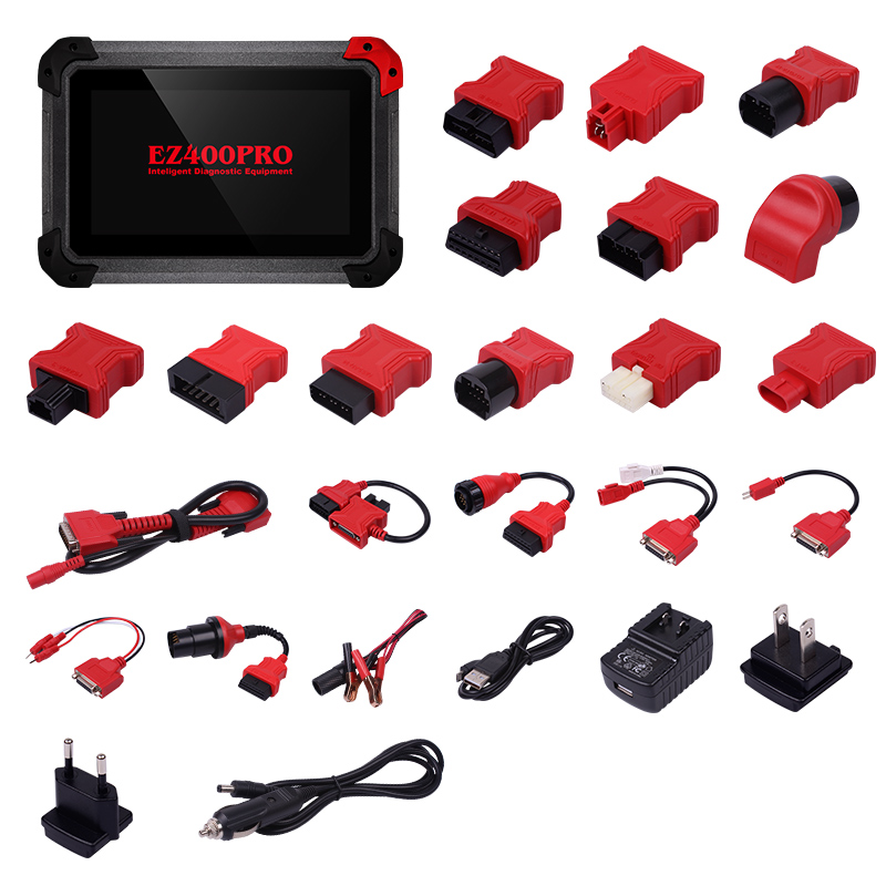 XTOOL EZ400 PRO Tablet Diagnostic Tool Support Key Programer XTOOL Odometer Adjustment and Airbag Reset DHL