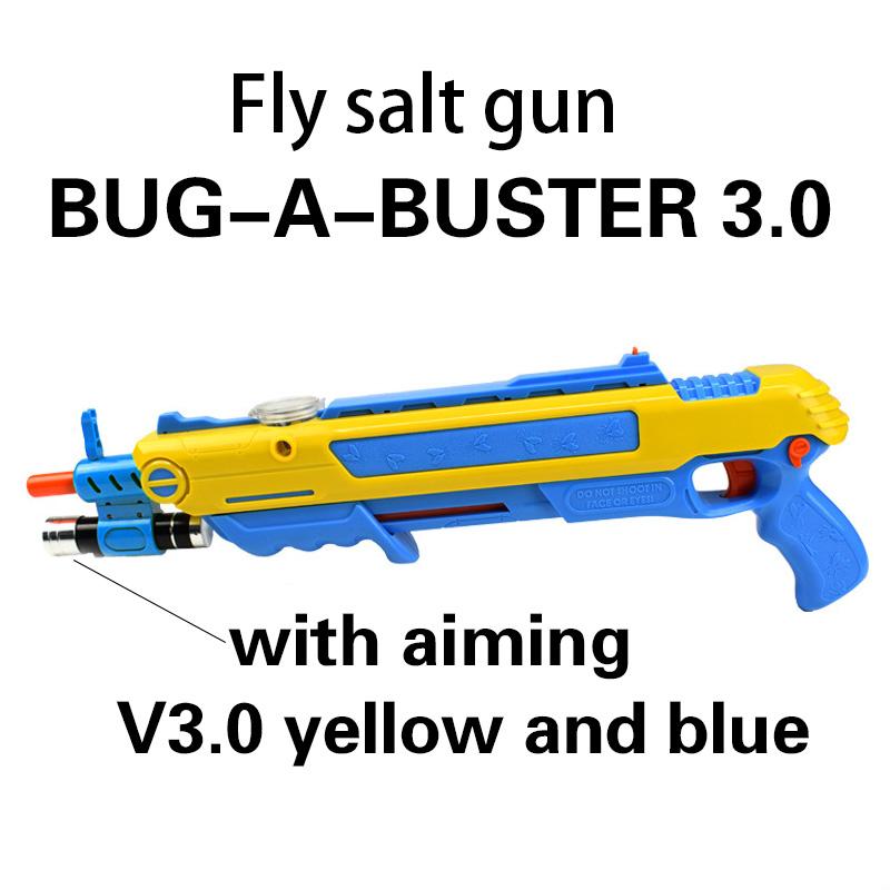 Pistola de sal Creative bug a salt Gun Salt Pepper Bullets Blaster Airsoft for Bug Blow Gun Mosquito Model Toy Gun Inflatable gift