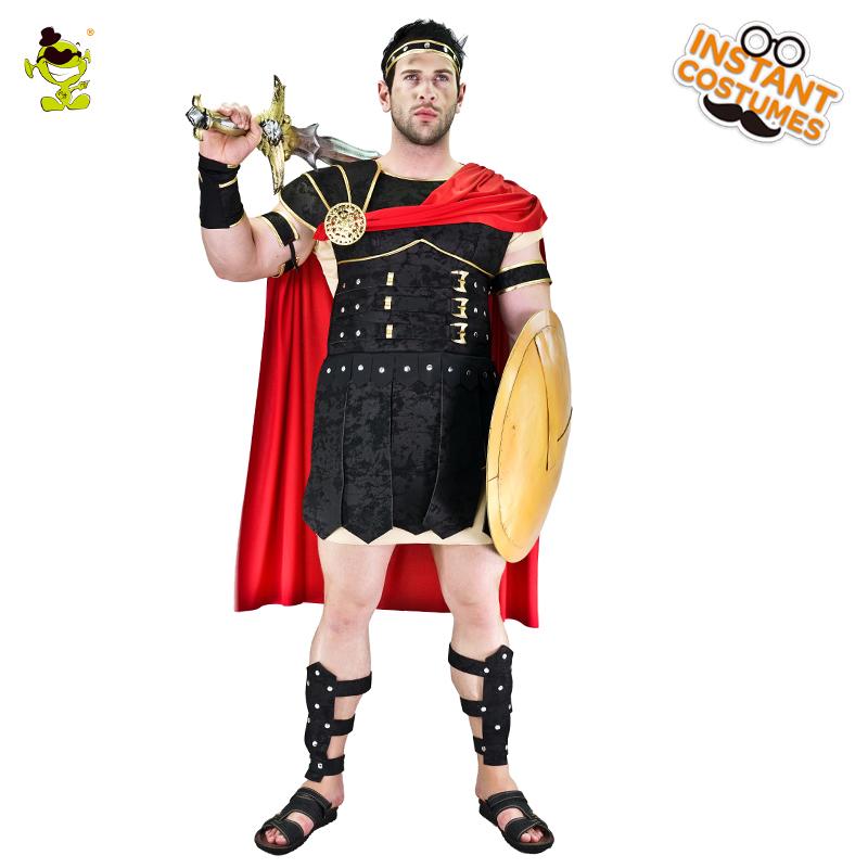 Roman Gladiator Hercules Greek Warrior Soldier Boys Cosplay Party Fancy Costume