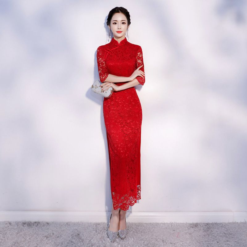 Vestiti Cerimonia Cinesi.Vendita All Ingrosso Di Sconti Lunghi Vestiti Da Cerimonia Nuziale