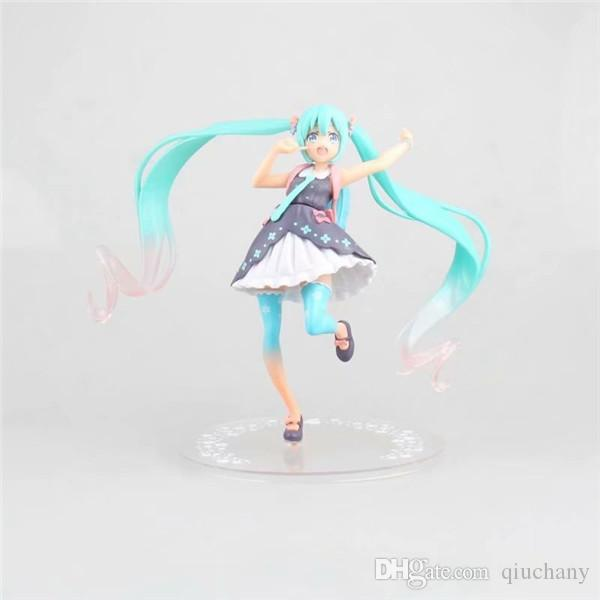 Anime VOCALOID Hatsune Miku PVC Figure Figurine Collectiable Toy New in box Gift