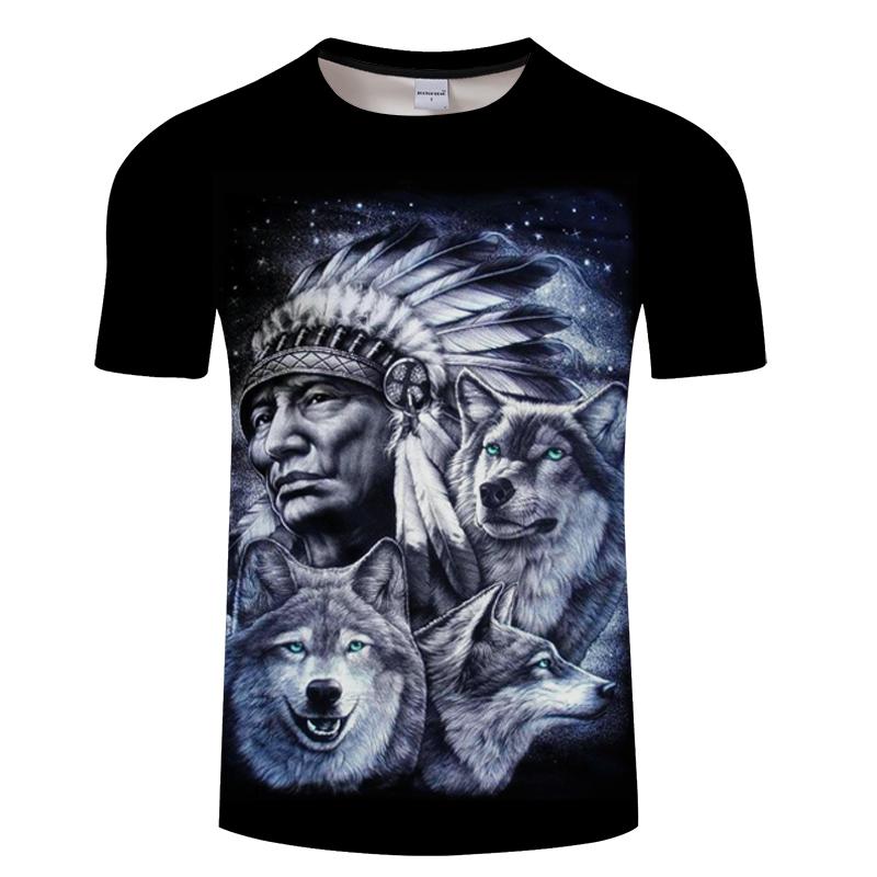 Adelier Mens 3D Printed Short Sleeve T-Shirt Mens Summer Shirt Comfortable Soft Shirt Round Neck Top M-6XL