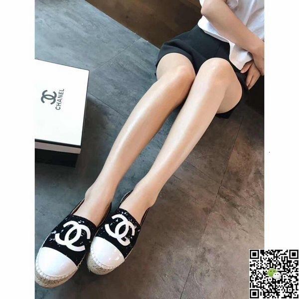 2017 femmes d'été Nouveau Motif Accueil Ameublement Toile Flûte chaussures à la main Slacker Pêcheur seul ressort confortable