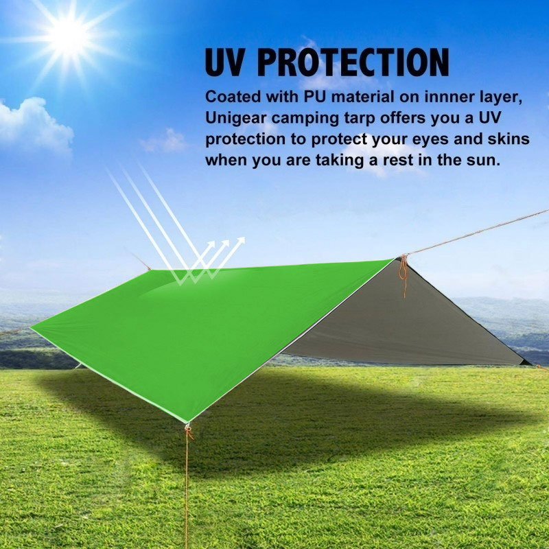 Beige 2-Tier Gazebo Canopy Replacement Top Cover Waterproof Sunscreen UV Block 300x300cm