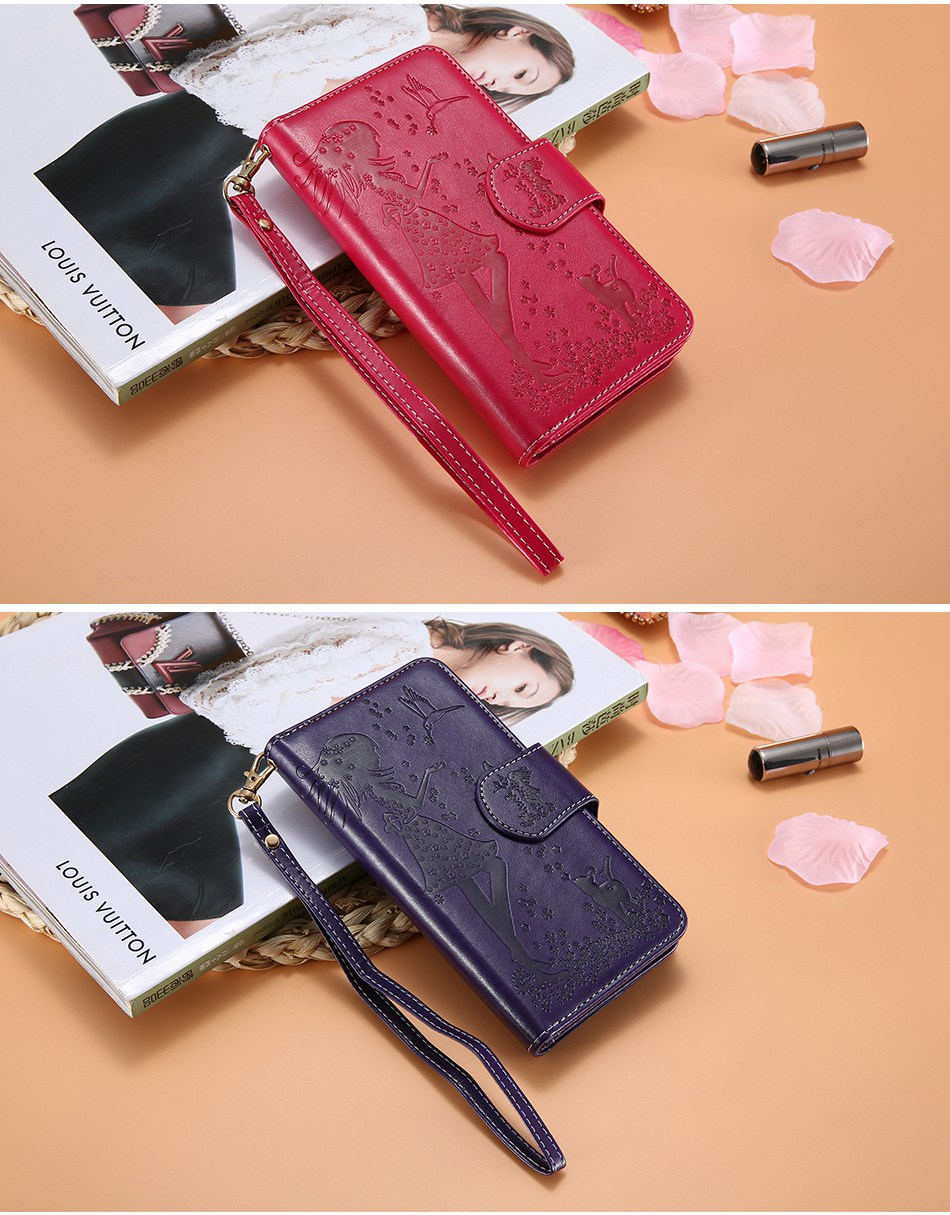 Leather Wallet Case For iPhone 7 6 6S Plus 5 5S SE Phone Cases (13)