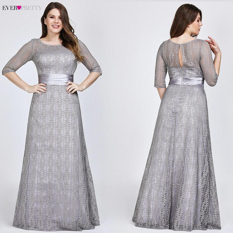 d8db52738 ep08878gy-pe. Elegantes tallas grandes Vestidos de noche largos 2019  Siempre bonitos Ep08878gy Una línea de encaje de
