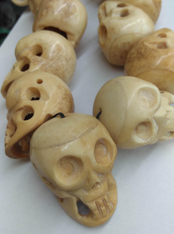 Carved Skull Beads Online Shopping Buy Carved Skull Beads At Dhgate Com
