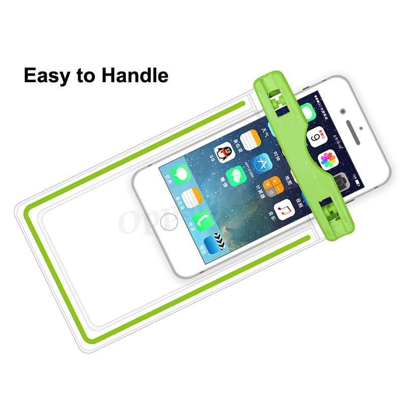 Waterproof Mobile Phone Case For Iphone X Xs Max Xr 8 7 Samsung S9 Clear Pvc Sealed Underwater Cell Smart Phone Dry Pouch Cover