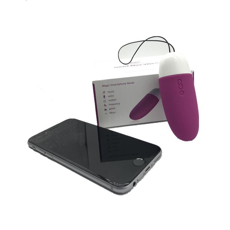 Magic Motion App Bluetooth Clítoris Vibrador Control Inteligente Mini Vibe Estimular Vibrante Huevo Vagina Masaje Juguete Sexual Para Mujer Y19061702