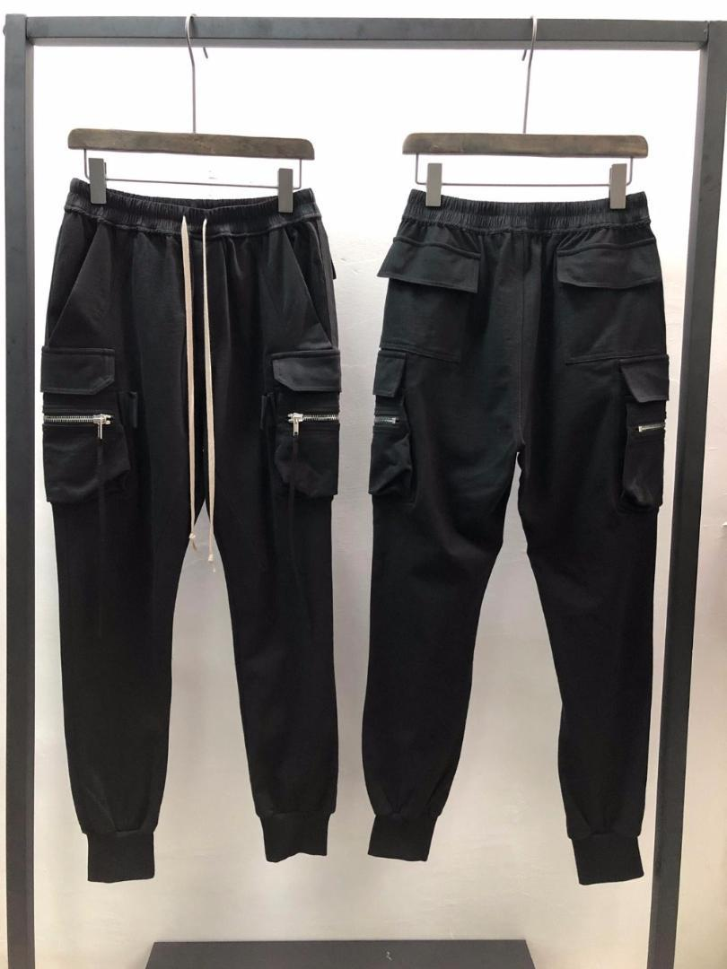Pantaloncini Casual da Uomo Steampunk Cintura Nera Rock Cerniera Gotico Estate Pantaloni Corti