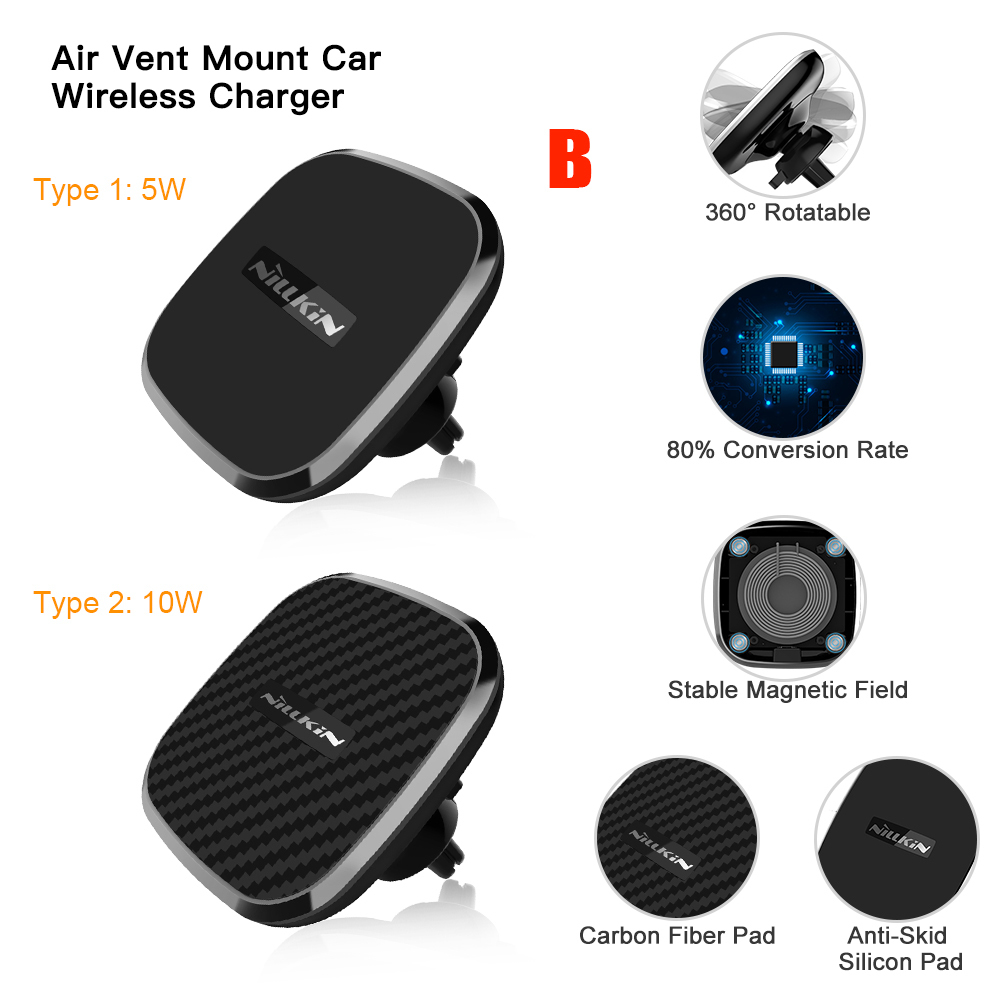 Magnetic Wireless Car Charger (5)