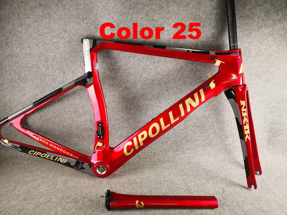 25 Cipollini NK1K 1K Di2 Carbon Bike Frame
