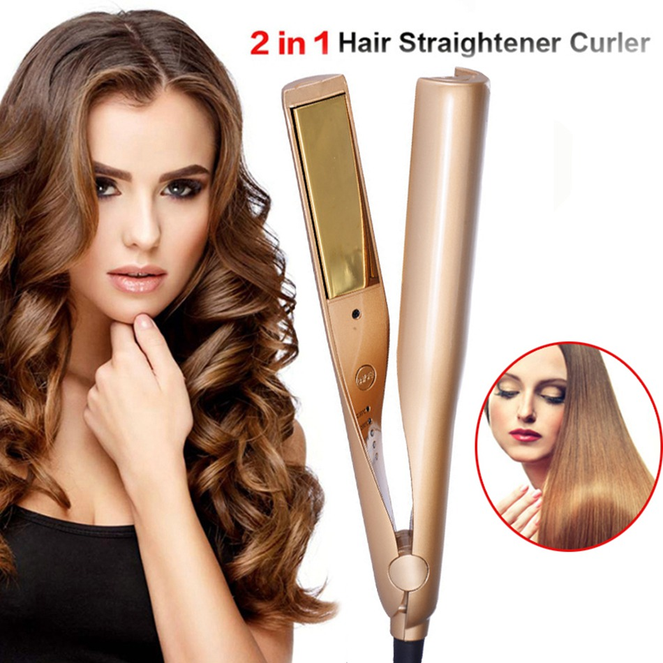 2-in-1-Hair-Curlers-Straightener-Perm-Styling-Rolloer-Styler-Curler-Tools-Wand-Hair-Curling-Straightening