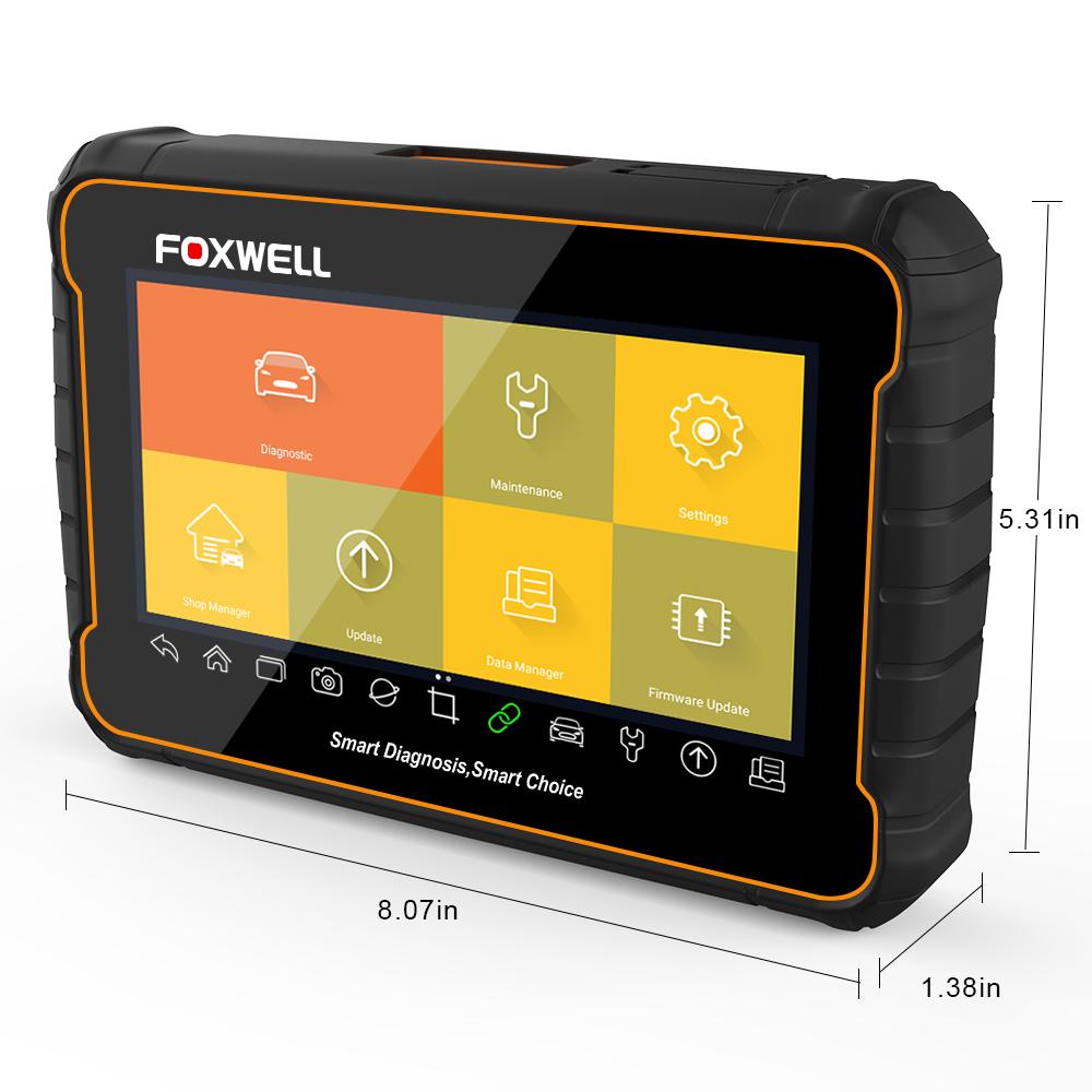 Foxwell NT204/OBD2/lettore di codice motore auto lettore di codice di errore supporto multi-lingue