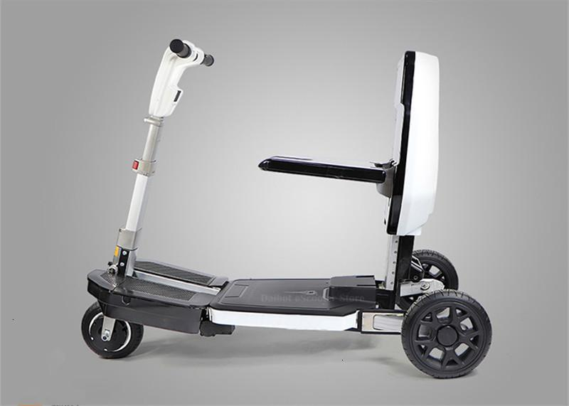 Disability Electric Scooter 3 Wheel Electric Scooter For Elderly Disabled Folding Electric Wheelchair (33)