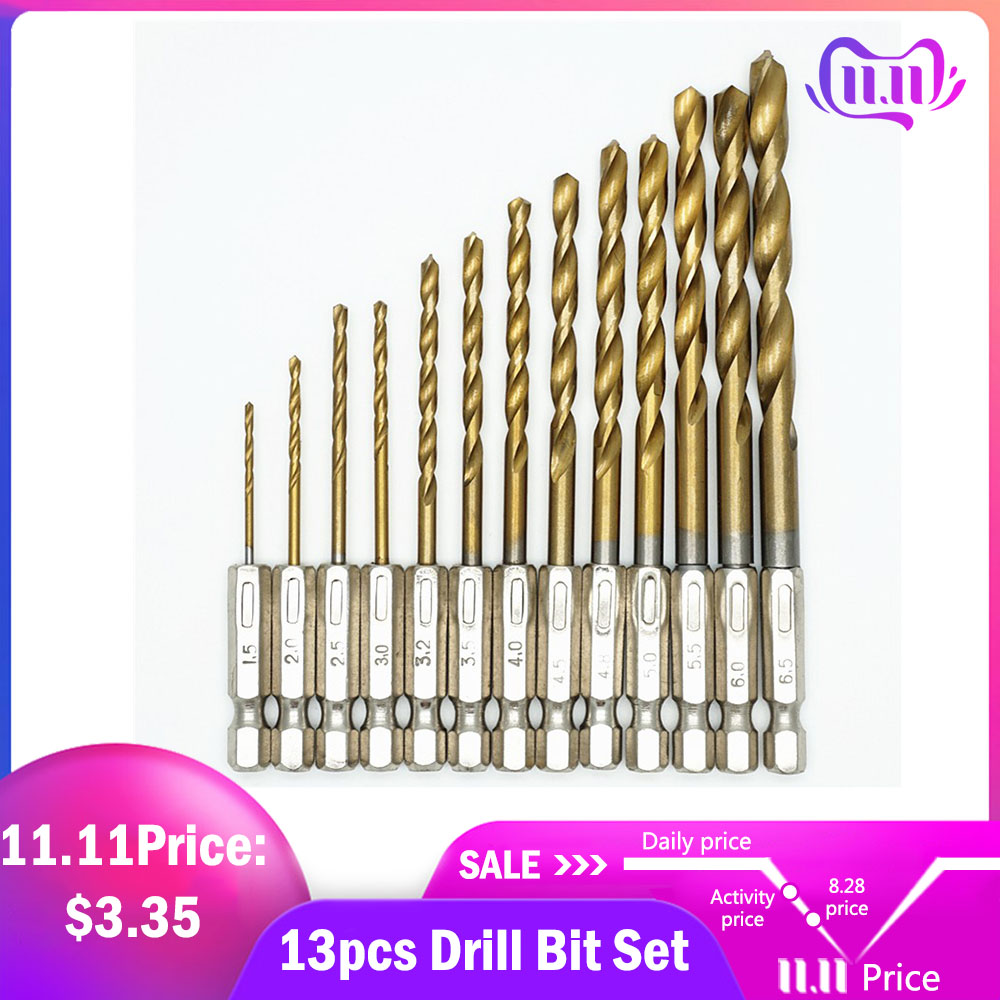 4pcs countersink drill bit set screw wood working 3-6mm tool chamfer Gut