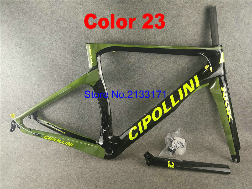 23 Cipollini NK1K 3K Di2 Carbon Bike Frame