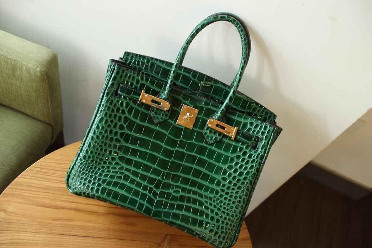 Clássico Bolsas de Grife de Moda Mulheres Jacaré Crossbody Bags Strap Bolsas de Ombro Bolsa De Couro Genuíno Bolsa Totes Sacos de Estilo