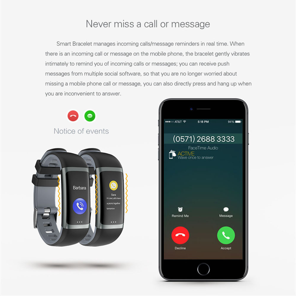 smart watch wristband health heart rate xiaomi mi band 3 (6)