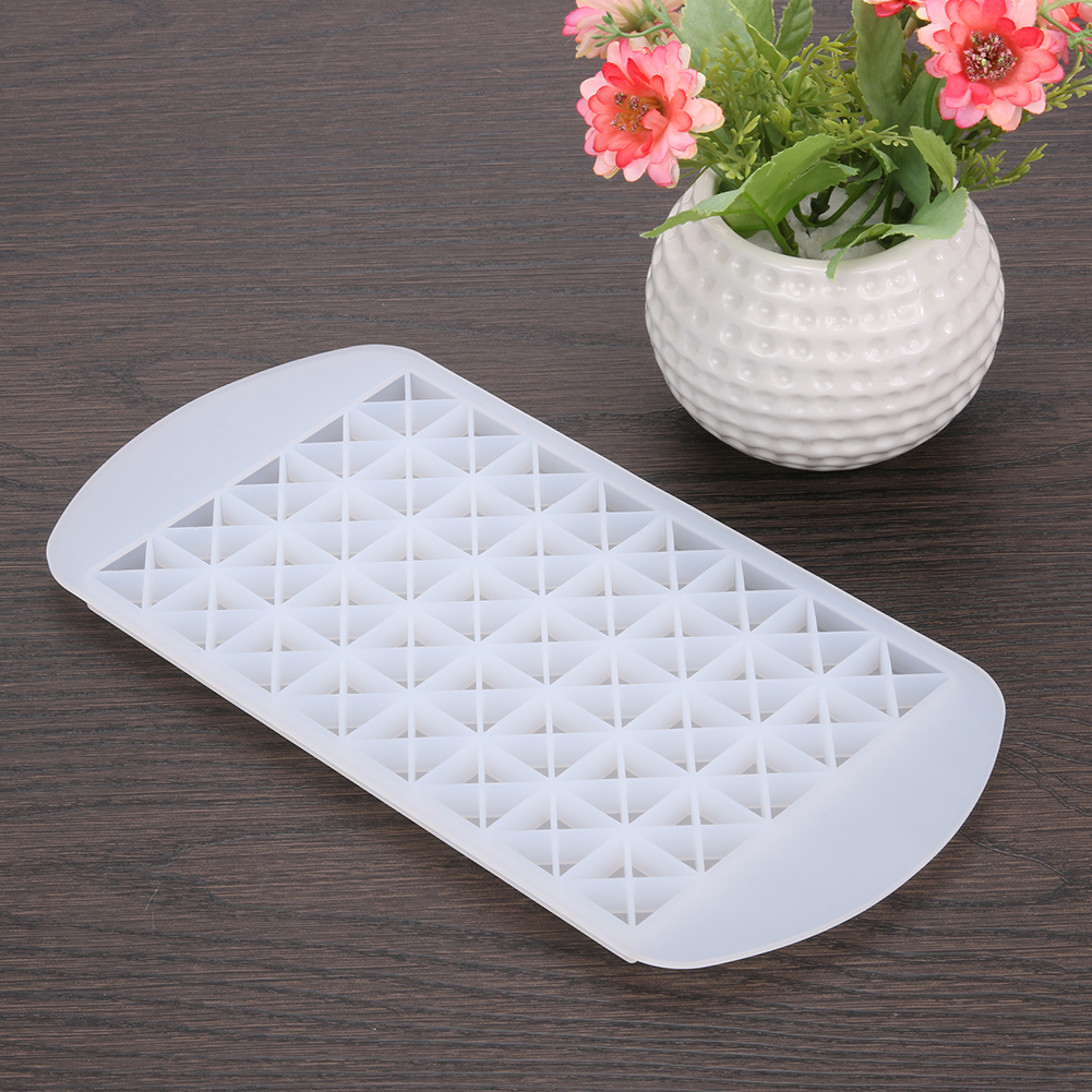 160 Grids Diy Whiskey Cocktail Ice Mold Square Shape Silicone Ice Tray Ice Maker Kitchen Tools Bar Accessories