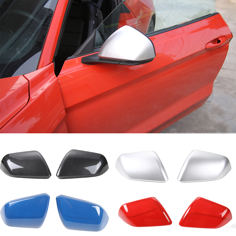 4x Red Inner Car Door Handle Decor Cover Trim For Ford F150 2015-17 Accessories
