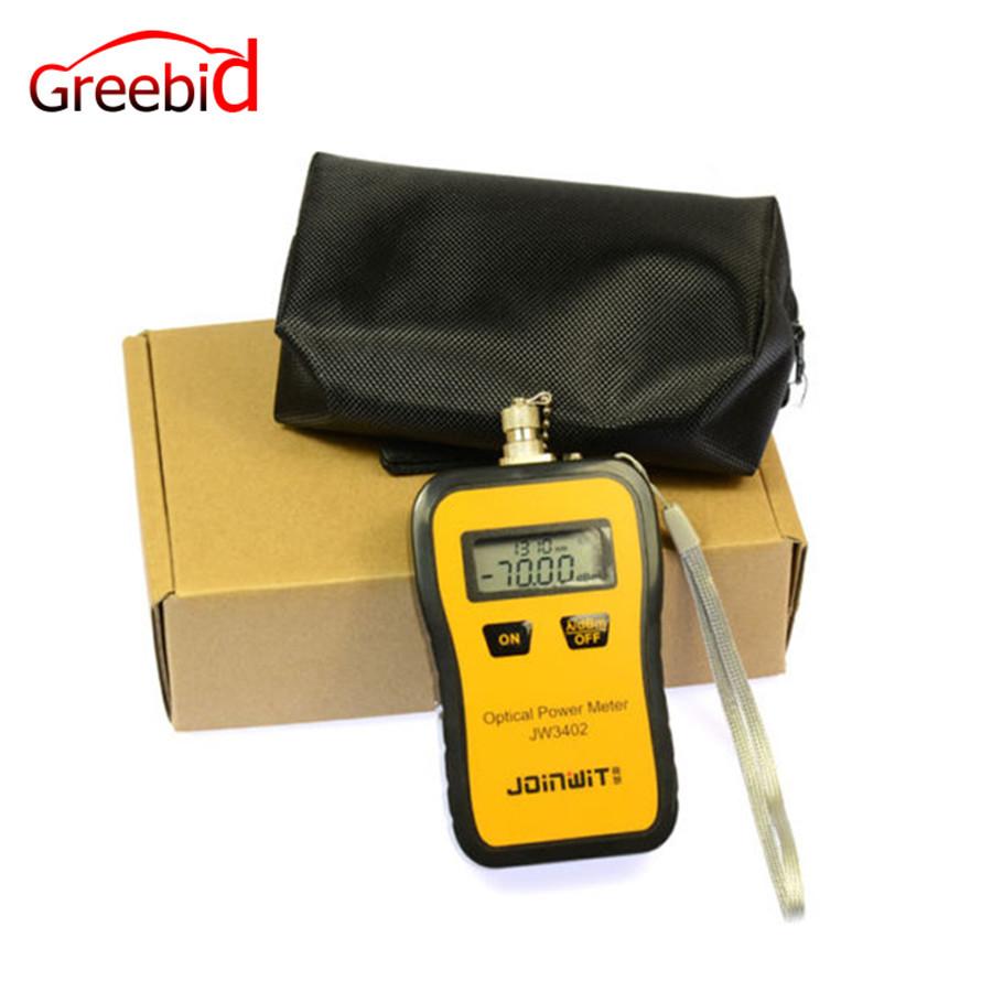 Bewinner Misuratore di Potenza Ottico a Fibra Ottica Tipo A Mini misuratore di Potenza Ottica ad Alta precisione Misuratore di Potenza per Fibra Ottica Portatile Misura per Test FTT