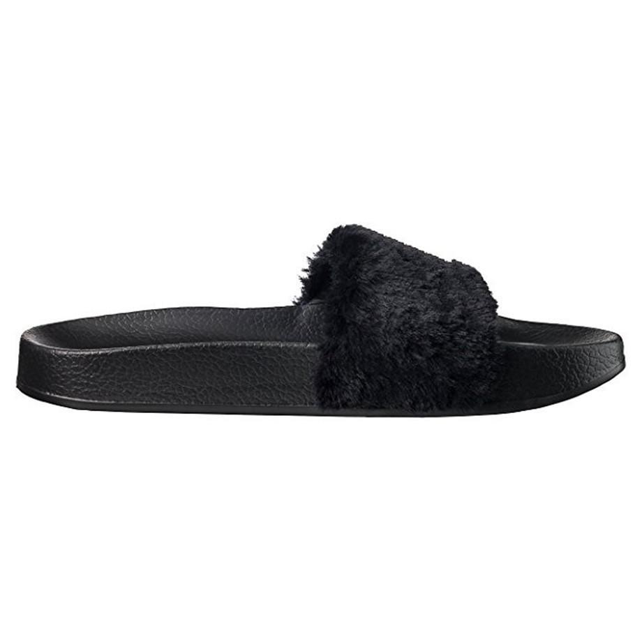 Cheap Wholesale retail Leadcat Fenty Rihanna Shoes Women Slippers Indoor Sandals Girls Fashion Scuffs White Grey Pink Black Slide