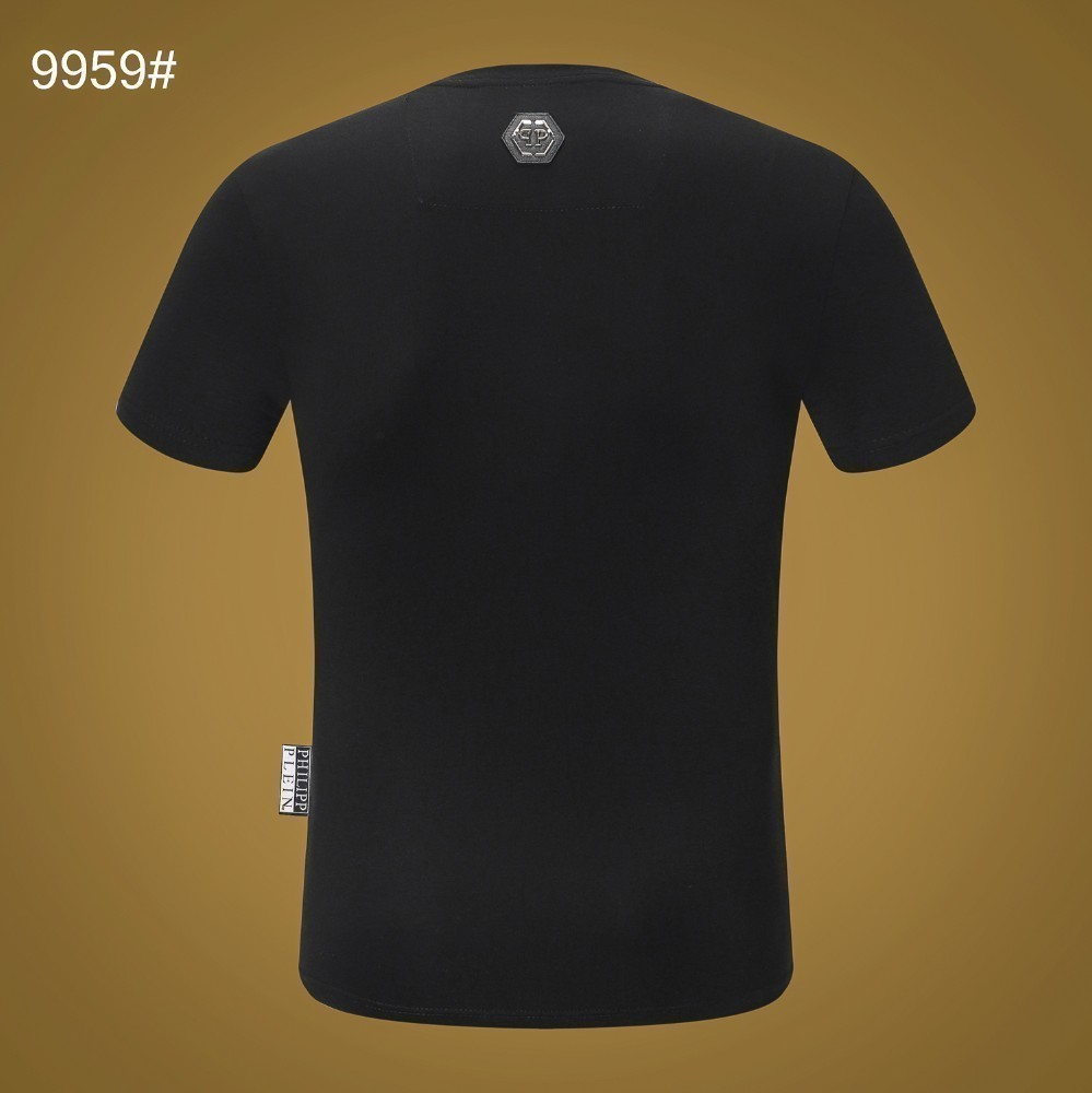 Men's summer new small round neck short sleeves Simple and stylish fabric comfort Upper body handsome breathableSuper explosive