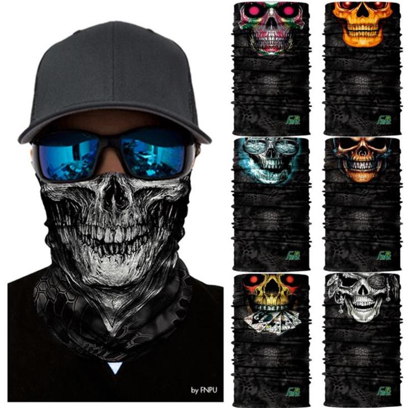 Motorcycle Balaclava Skull Face Mask Ski Mask Scarf Foulard skiing hunting fishing Face Shield headband neck warmer Balaklava