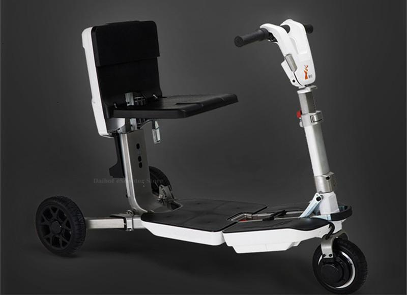 Disability Electric Scooter 3 Wheel Electric Scooter For Elderly Disabled Folding Electric Wheelchair (34)