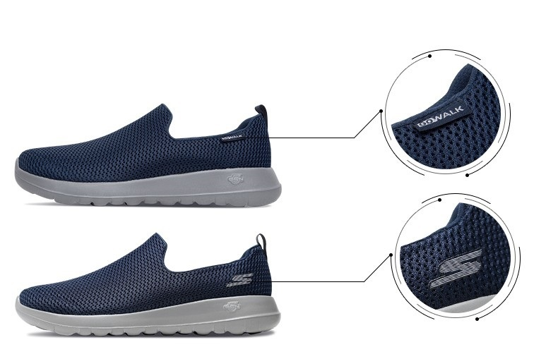 Skechers Shoes Men Casual Go Walk Max Comfortable Breathable Shoes Casual Shoes Soft Moccasins Men Loafers 54600 BKW T200111 Footwear Sport Shoes From