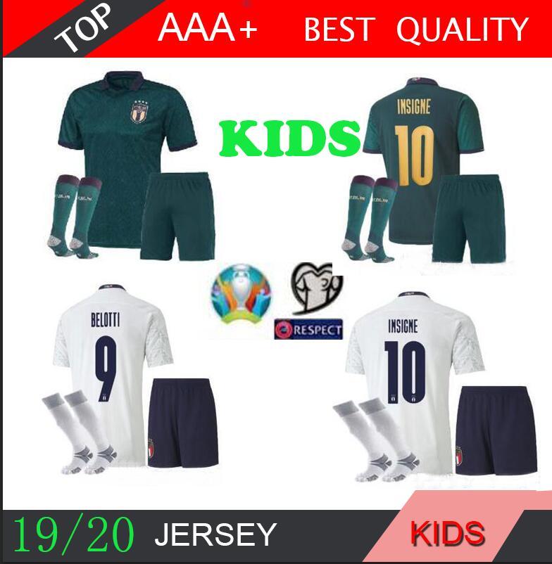 18//19 Football Kits Outfits Soccer Short Sleeve Kids Boys Team Suit 3-14Y+Socks