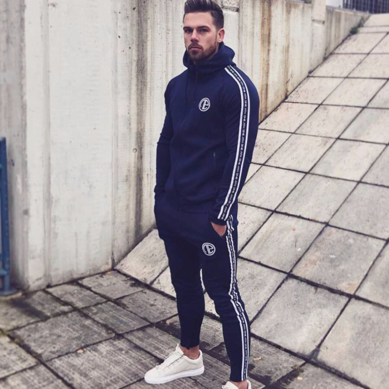 Male Tracksuit Sporting Sweat Suits-2