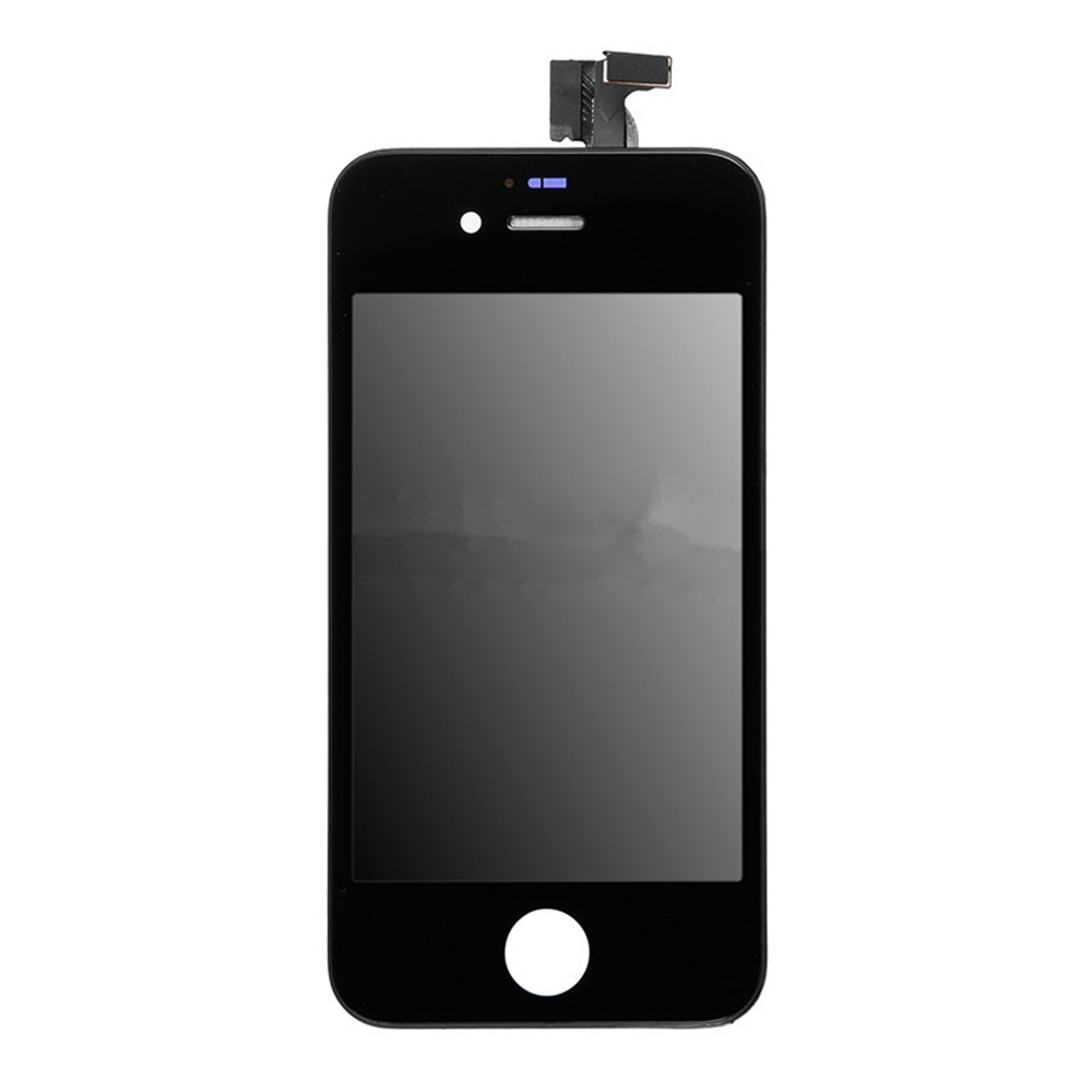 For_Apple_iPhone_4S_LCD_Screen_and_Digitizer_Assembly_with_Frame_Replacement_-_Black_-_Grade_S_4_
