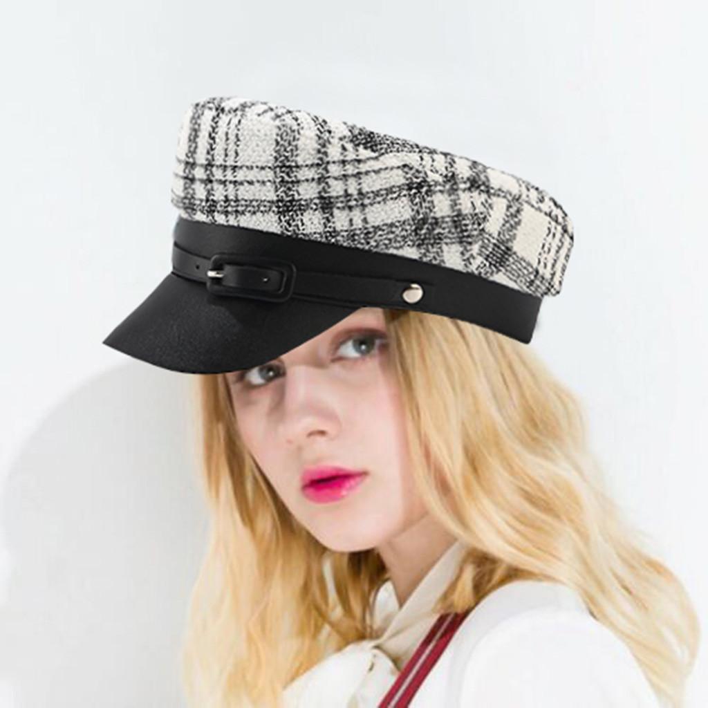 2019 Femmes Chapeau Mode cor/éenne Ceinture Chapeau Court Fedora Chapeau R/étro Britannique Chapeau Hommes Et Femmes Tendance Automne Et Hiver Sauvage Loisirs Jazz Chapeau