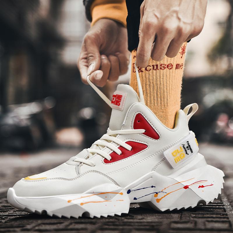 Chaussures de Randonn/ée Confortables /à Absorption de Choc Unisexe Chaussures de Marche Antid/érapantes Imperm/éables /à leau Portent des Chaussures de Sport