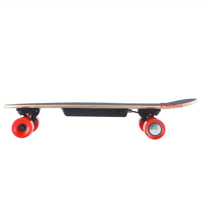 Daibot Child Electric Scooter Four Wheel Electric Scooters 120W Single Motor Portable Wireless Remote Mini Electric Skateboard (15)