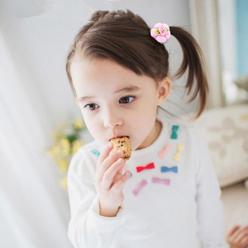 Cute pumpkin flower Children Hairpins Hairbands Headbands for Girls kids Hair clips Accessories Handmade Barrettes Headwear