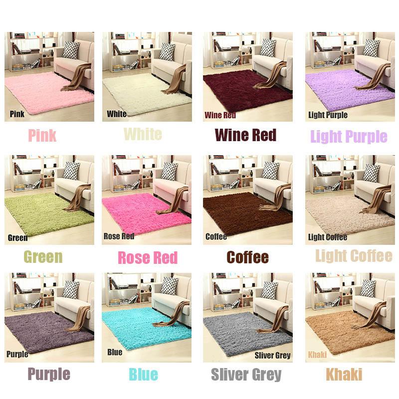 Soft Shaggy Carpet For Living Room European Home Warm Plush Floor Rugs fluffy Mats Kids Room Faux Fur Area Rug Living Room Mats C19031901
