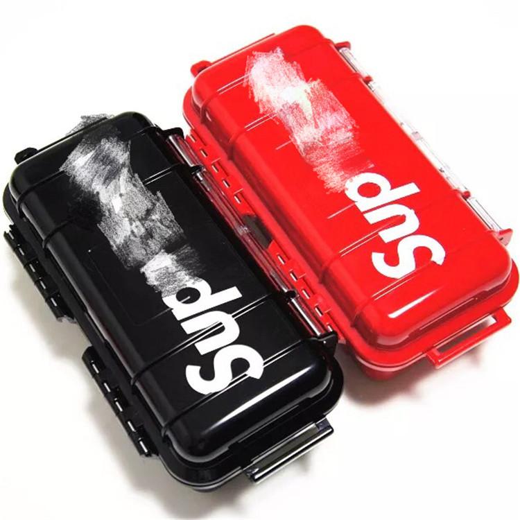 Étanche Récipient En Plastique Clé Argent Téléphone Boîte de rangement Case Camping 6 pcs