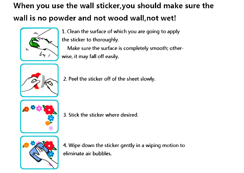 ues the wallsticker