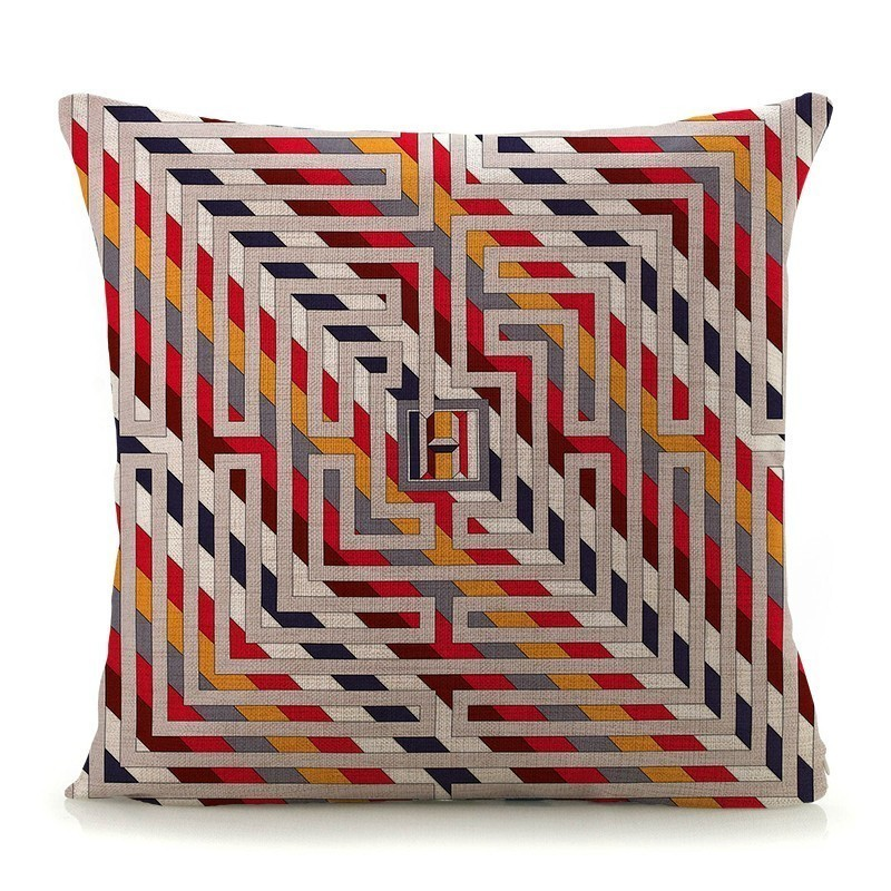 """European Style Cucoloris 18/""""x45cm Decor Cotton Linen Cushion cover Pillowcase"""