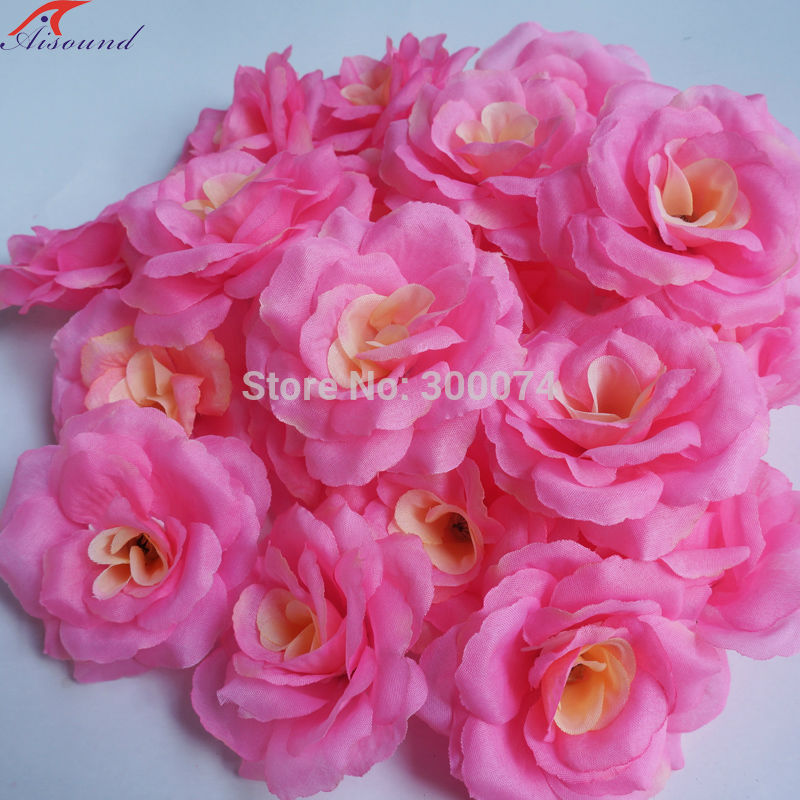Pink flowers for crafts